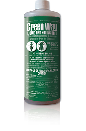 Green Way® Liquid Ant Killing Bait Qt. Bottle