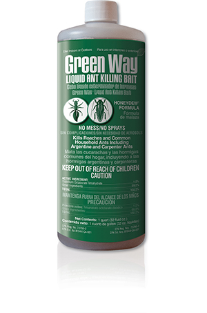 Green Way Liquid Ant Killing Bait Qt. Bottle